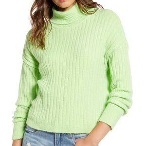 Love By Design Sweaters - LOVE BY DESIGN Neon Turtleneck Sweater